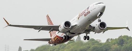 Malindo Air Begins using Boeing 737 MAX 8