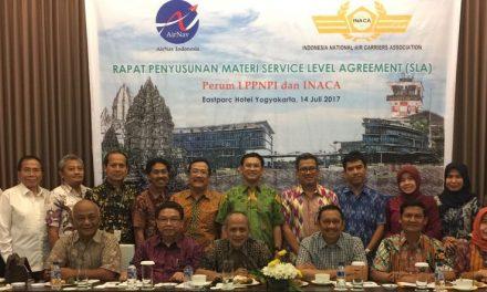 INACA – AirNav Membahas Service Level Agreement