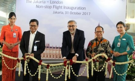 Garuda Indonesia Memulai Hari ini Penerbangan Langsung Jakarta-London-Jakarta