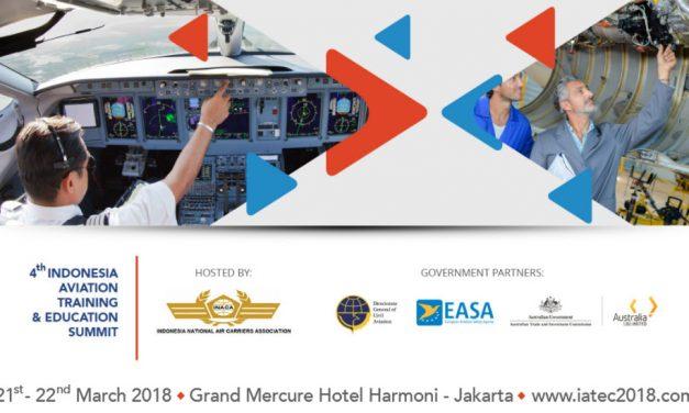 4th IATEC (Indonesian Aviation Training and Education Summit