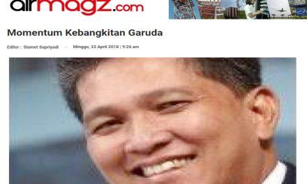 momentum kebangkitan Garuda Indonesia