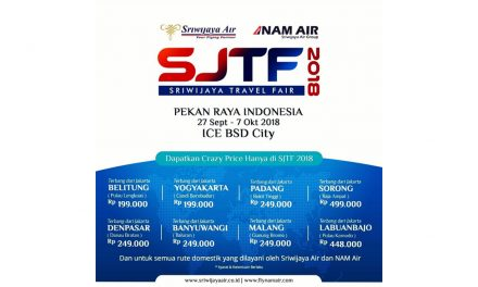 Sriwijaya Travel Fair 2018