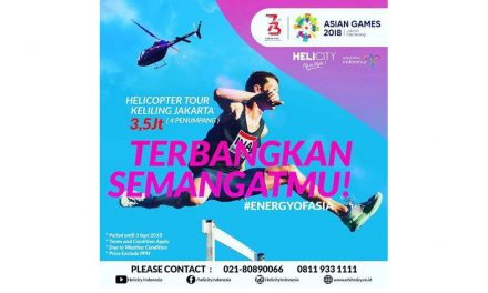 SUKSESKAN ASIAN GAMES 2018 by Whitesky Aviation