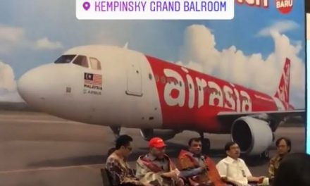 Our member's new product on Air Asia