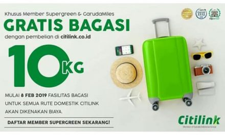 Bagasi Supergreen Citilink