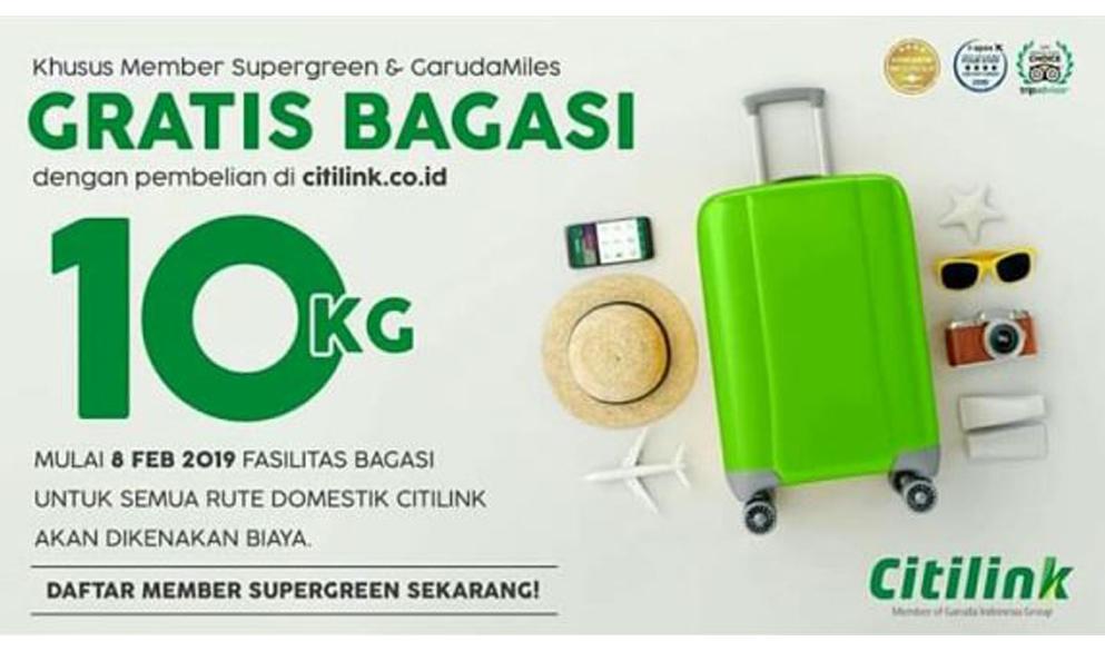 Bagasi Supergreen Citilink