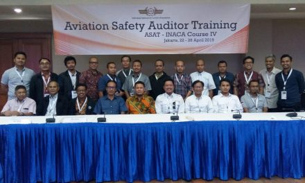 Aviation Safety Auditor Training (ASAT) course IV 22-26 April 2019