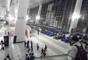 Ruang tunggu penumpang untuk boarding di T3 bandara Soetta.. Nyaman dan lapang akan menyenangkan masyarakat dan operator penerbangan pengguna bandara.(Foto:AH)
