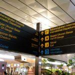 Di Terminal 3 bandara Soekarno-Hatta, untuk keberangkatan internasional dan dalam negeri bersebelahan saja tak terpisah.(Foto:AH)