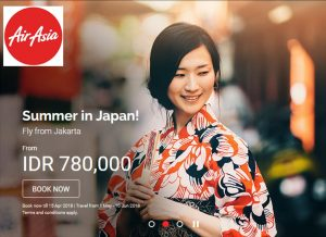 promo price japan